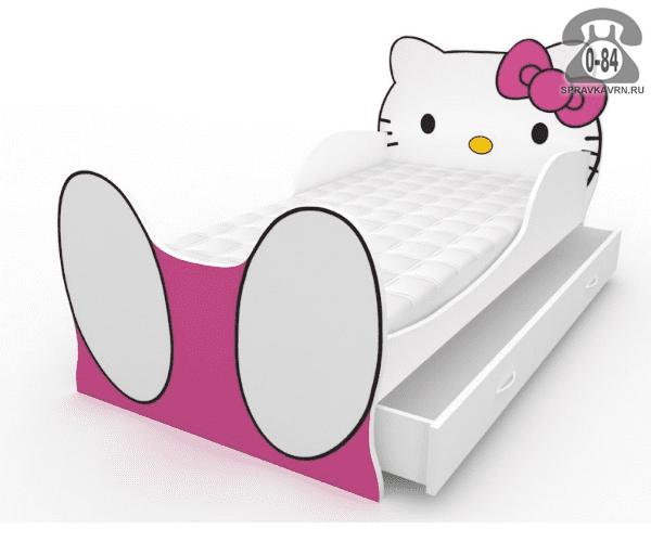 Кровать детская Китти