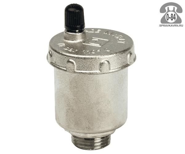 """Воздухоотводчик автоматический для радиатора отопления Итап (Itap) 1"""" прямое подключение"""