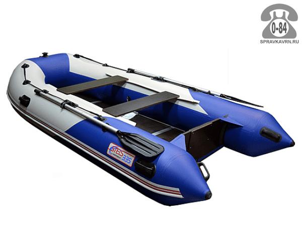 Лодка надувная Hunterboat STELS 335, синий/белый