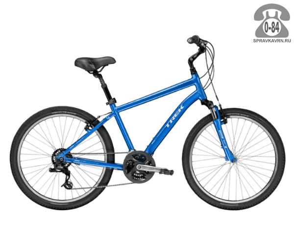 "Велосипед Трек (Trek) Shift 2 (2016), рама 17"", синий размер рамы 17"" синий"