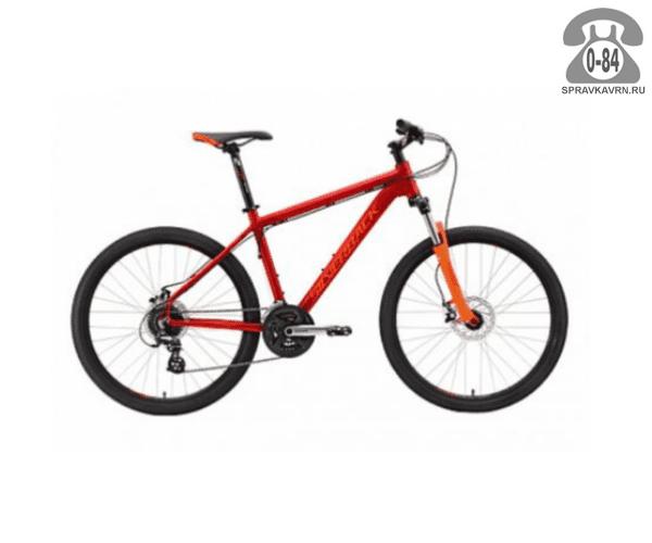 "Велосипед Сильвербэк (Silverback) STRIDE 20 (2016), рама 20.5"", красный размер рамы 20.5"" красный"
