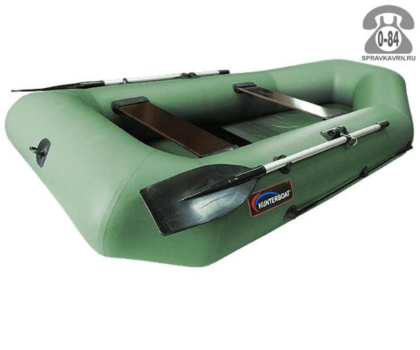 Лодка надувная Hunterboat Хантер 280 Р, зеленый 280062