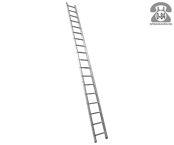 Лестница приставная Алюмет (Alumet) H1 5118