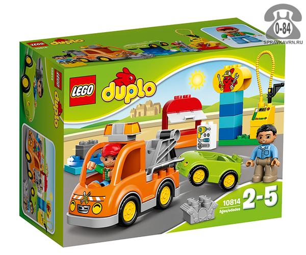Конструктор Лего (Lego) Duplo 10814 Эвакуатор, количество элементов: 28