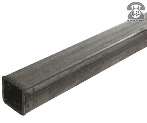 Профильные стальные трубы 20*20 1.5 мм 3 м