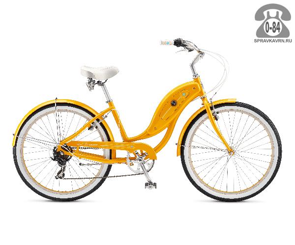 Велосипед Швин (Schwinn) HOLLYWOOD (2017) оранжевый