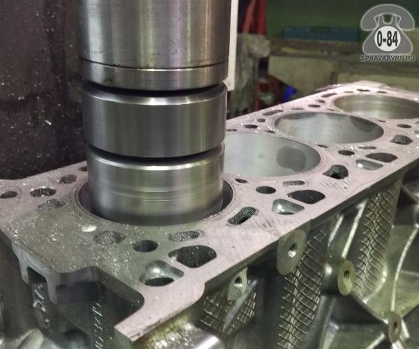 Блок цилиндров двигателя расточка легковой без выезда к заказчику ремонт