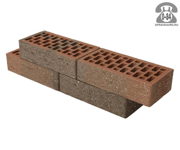 Кирпич лицевой Braer Front Brick терра 250х120х65мм