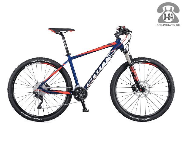 "Велосипед Скотт (Scott) Aspect 700 (2016), рама 20.5"" размер рамы 20.5"" синий"