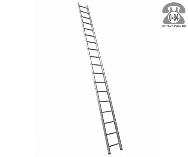 Лестница приставная Алюмет (Alumet) HS1 6118