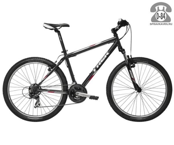 """Велосипед Трек (Trek) 820 (2016), рама 16.5"""" размер рамы 16.5"""" черный"""