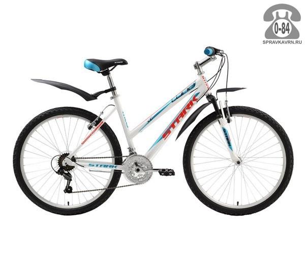 """Велосипед Старк (Stark) Luna (2016), рама 18.5"""", черный размер рамы 18.5"""" черный"""