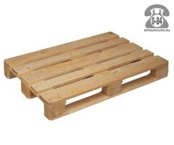 Поддон деревянный 1200 мм 800 мм