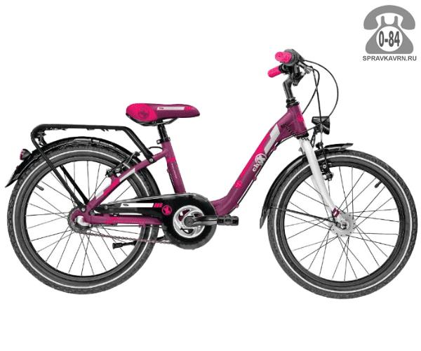 Велосипед Скул (Scool) chiX comp 20 3-S (2017), розовый