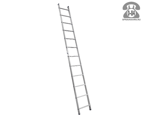 Лестница приставная Алюмет (Alumet) H1 5112