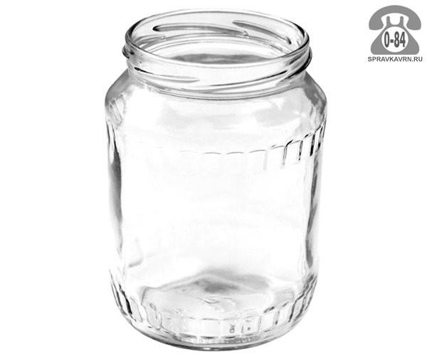 Банка стеклянная Твист-82 стандартная 0.67 л