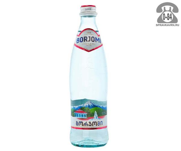 Вода минеральная 0.5 л