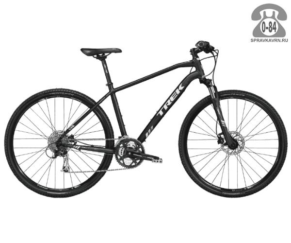 """Велосипед Трек (Trek) 8.4 DS (2016), рама 21.5"""", черный размер рамы 21.5"""" черный"""