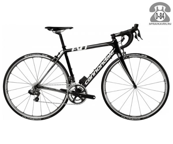 "Велосипед Канондейл (Cannondale) Slice Ultegra Di2 (2016) размер рамы 21.5"" черный"