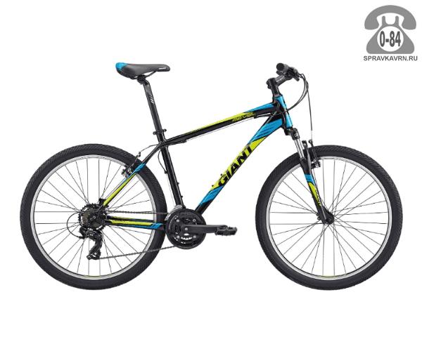 "Велосипед Джайнт (Giant) Revel 2 (2017), рама 18.5"", черный размер рамы 18.5"" черный"