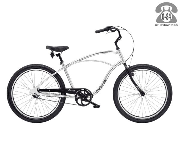 Велосипед Электра (Electra) Cruiser Lux Mens (2016) серый