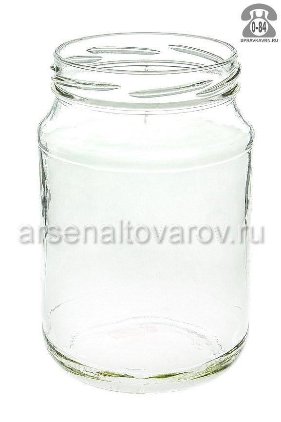 Банка стеклянная Твист-82 стандартная 0.72 л