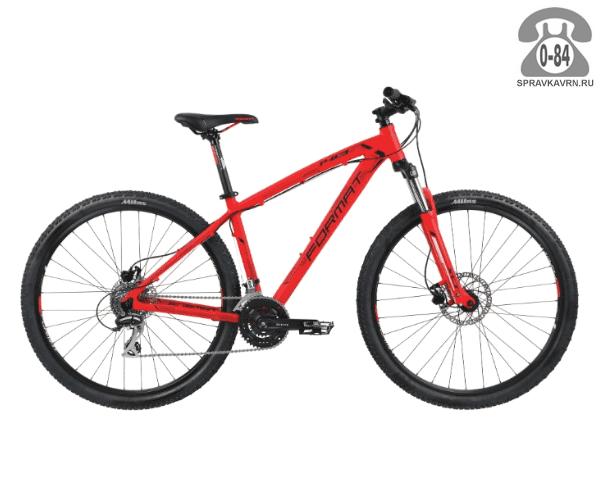 """Велосипед Формат (Format) 1413 29 (2017) размер рамы 19.5"""" черный"""
