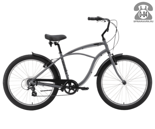 "Велосипед Сильвербэк (Silverback) SCALA 7 (2016) размер рамы 18.5"" серый"