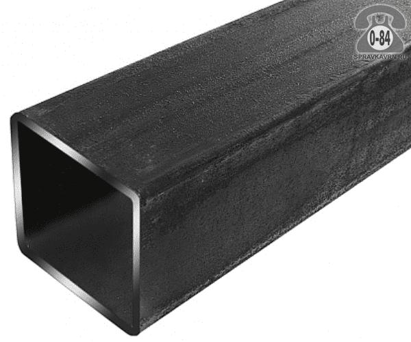 Профильные стальные трубы 80*80 3 мм 6 м