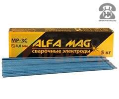 Электроды сварочные Альфа Маг (Alfa Mag) МР-3С Россия; диаметр 4мм, вес 5кг