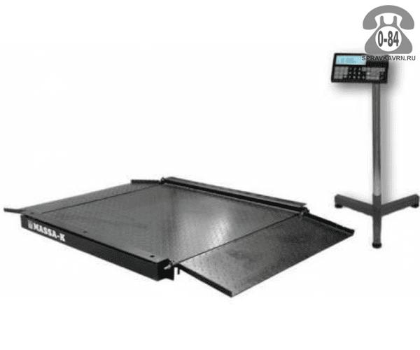 Весы товарные 4D-LA-2-1500 платформа 1000*1000мм 1500кг точность 500г