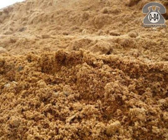 Песок карьерный (горный, строительный) Малышевский песчаный карьер