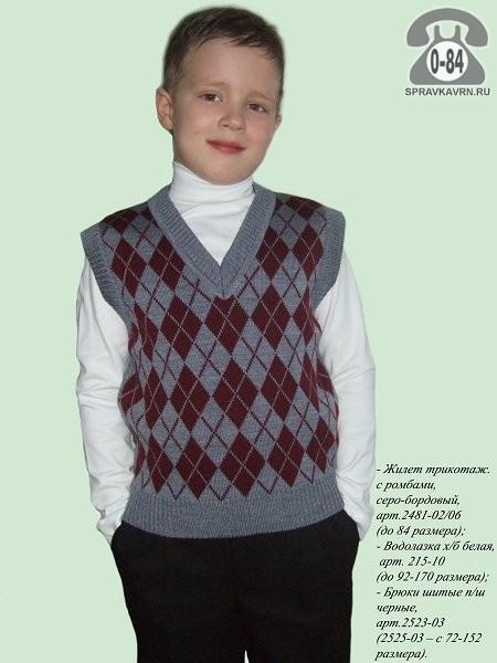 Водолазка детская Перемена для детей младшего школьного возраста г. Москва