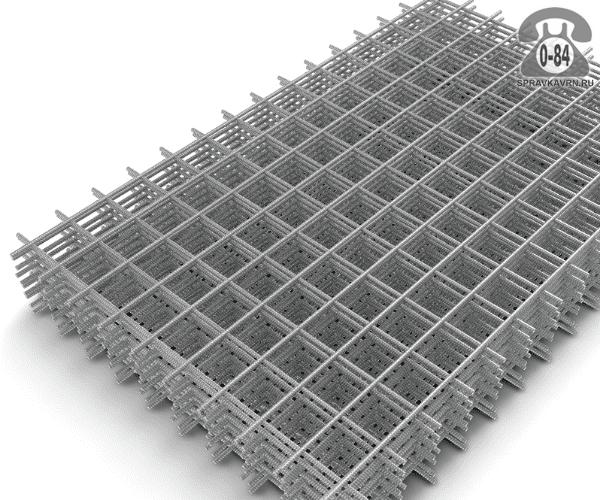 Сетка строительная диаметр 3.6 мм ячейка 110х100мм