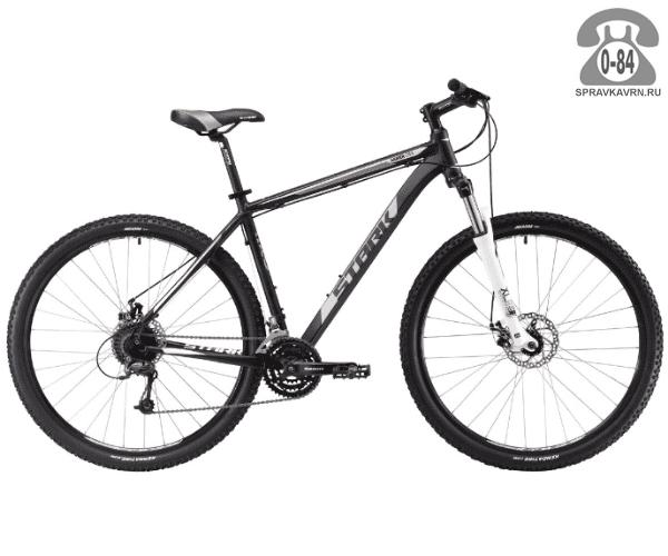 """Велосипед Старк (Stark) Armer 29.5 D (2017), рама 18.5"""" размер рамы 18.5"""" черный"""