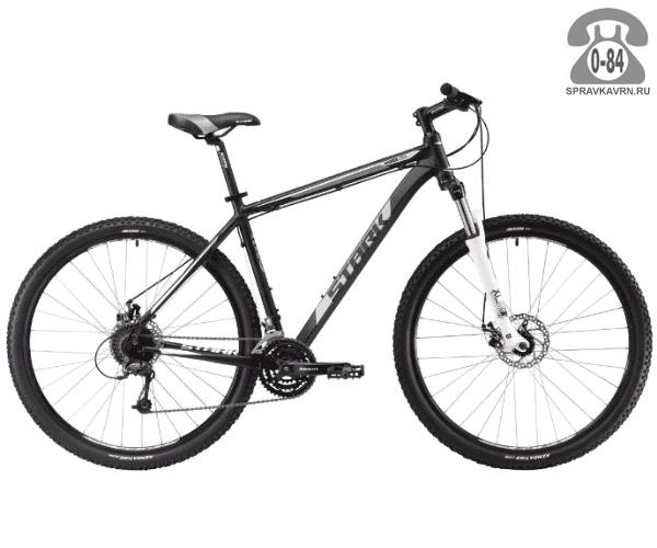 """Велосипед Старк (Stark) Armer 29.5 D (2017), рама 20.5"""" размер рамы 20.5"""" черный"""