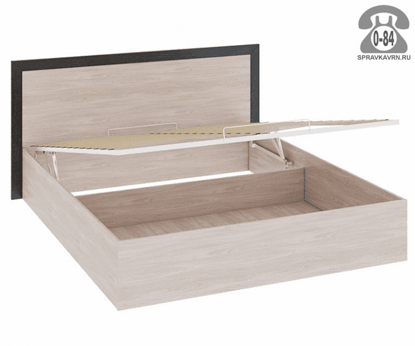 Кровать Стефани-2 2-спальная 2050х1650 мм