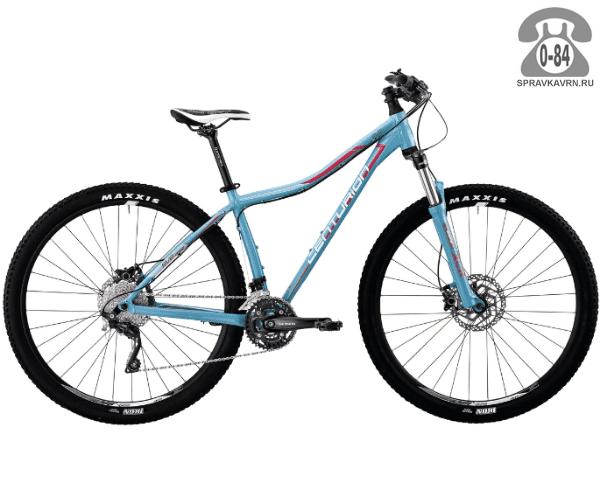 "Велосипед Центурион (Centurion) EVE Pro 400.27 (2017) размер рамы 15.5"" голубой"