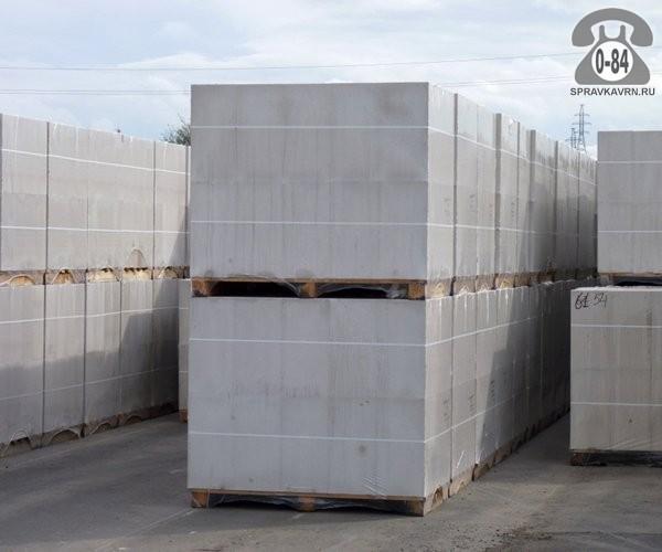 Блок газосиликатный 600 мм 200 мм 100 мм