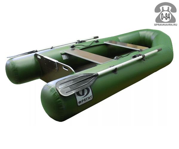 Лодка надувная Фрегат 230 Е, зеленая