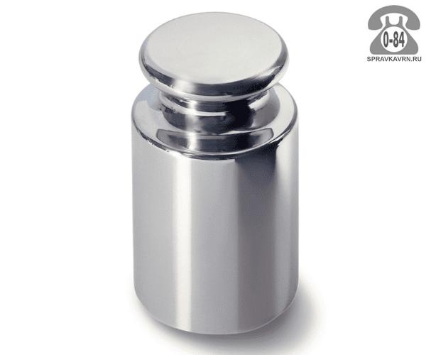 Гири Московский весовой завод сталь хромированная М2 150 мг торговая цилиндр с головкой 48 мм 82 мм 1000 г Россия
