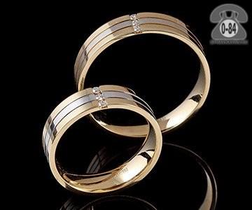 Кольцо обручальное кольцо золото