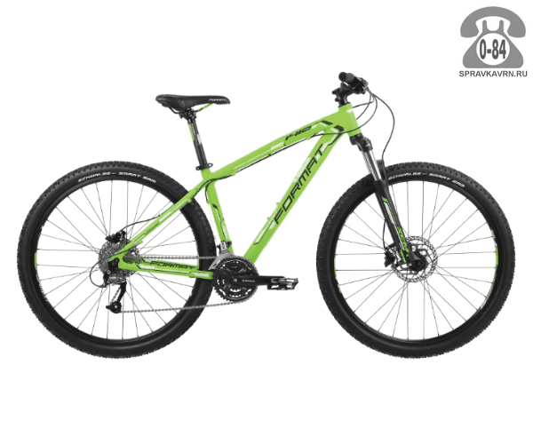 "Велосипед Формат (Format) 1412 29 (2017) размер рамы 19.5"" зеленый"