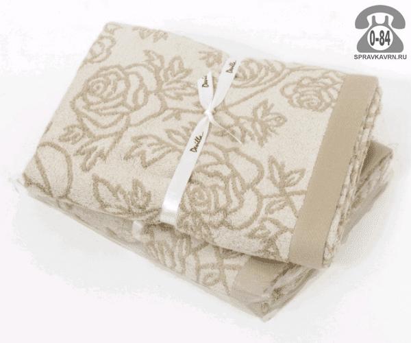Комплект полотенец Девиль (Devilla) Rose