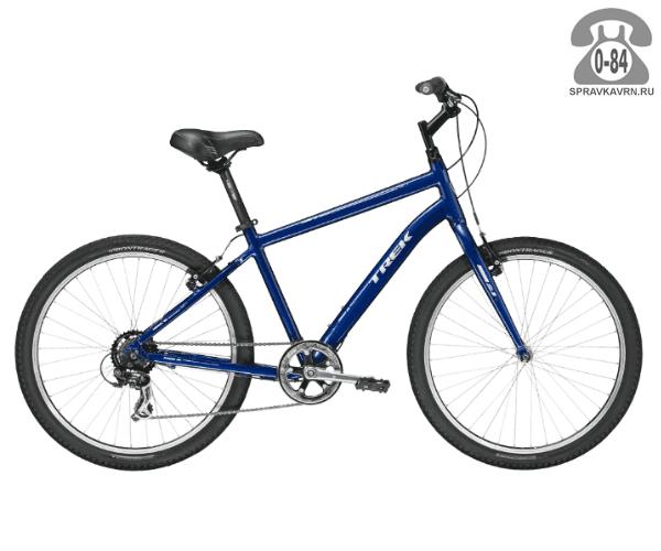 "Велосипед Трек (Trek) Shift 1 (2016), рама 19"" размер рамы 19"" синий"