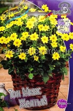 Клубнелуковичный цветок георгин (георгина) топмикс Топ Микс