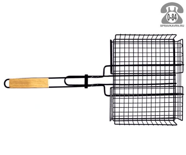 Решётка-гриль для барбекю Трамп TTB-005 30х24см