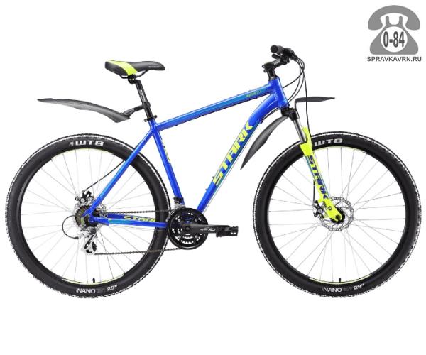 "Велосипед Старк (Stark) Router 29.3 D (2017) размер рамы 20.5"" синий"