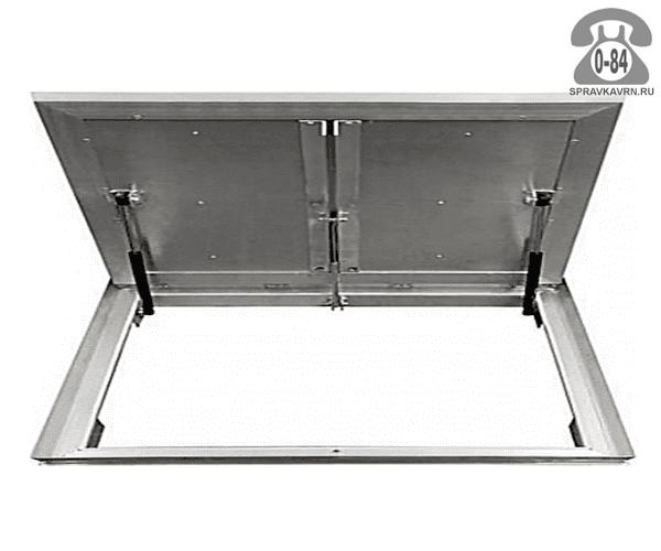 Люк ревизионный Колизей Лифт стандарт REVIZOR с амортизаторами напольный ну1100700