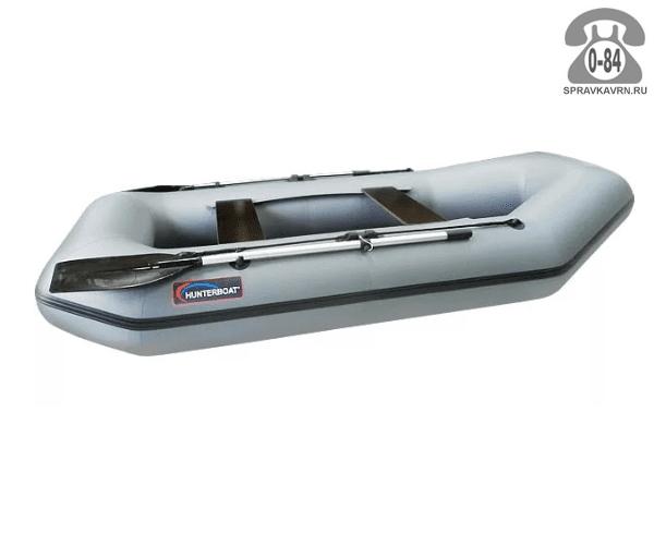 Лодка надувная Hunterboat Хантер 280 Л, серый 280031